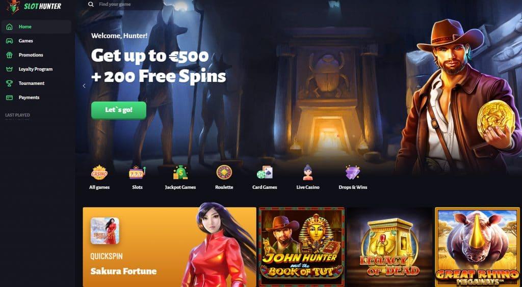 Slot Hunter Casino is Here
