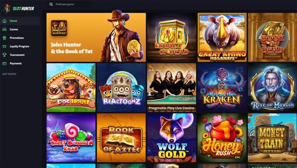 Slot Hunter Lobby