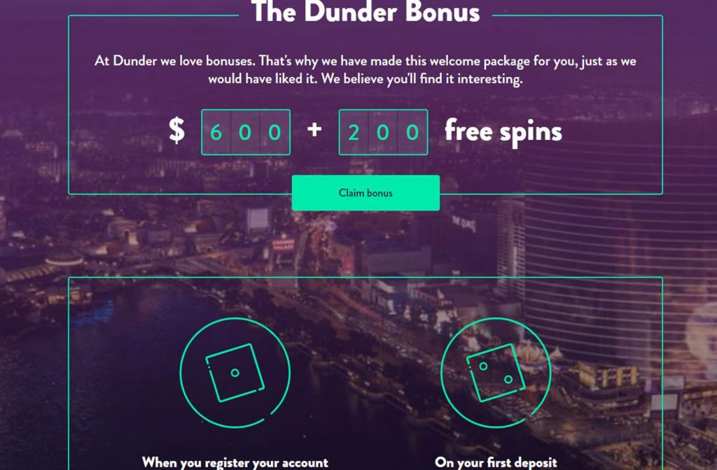 Dunder Gives you a Nice Bonus