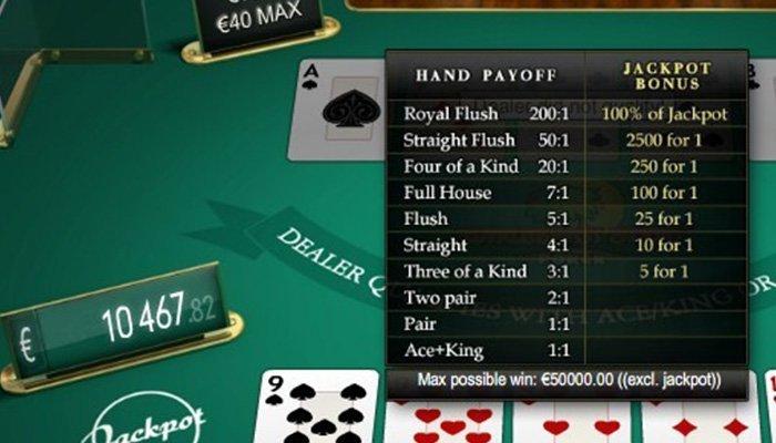Nice JAckpots in Caribbean Stud Poker