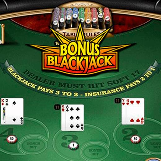 Bonus blackjack logo