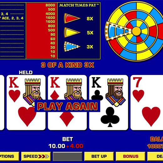 video poker logo