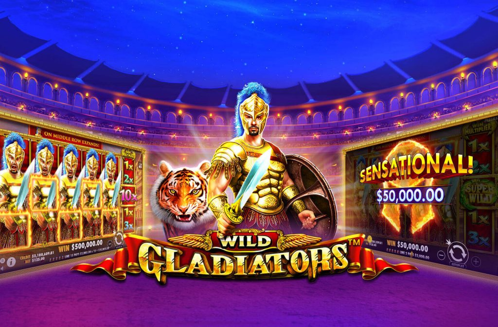 Another popular slot: Wild Gladiators
