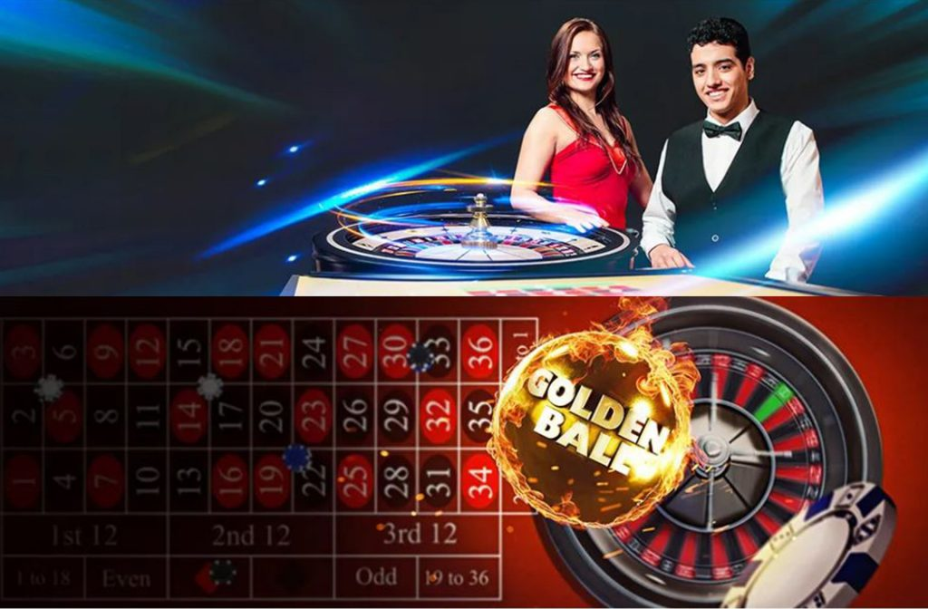Live Roulette and Golden Ball Roulette