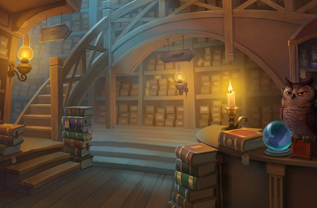 Wizard Shop's atmosphere