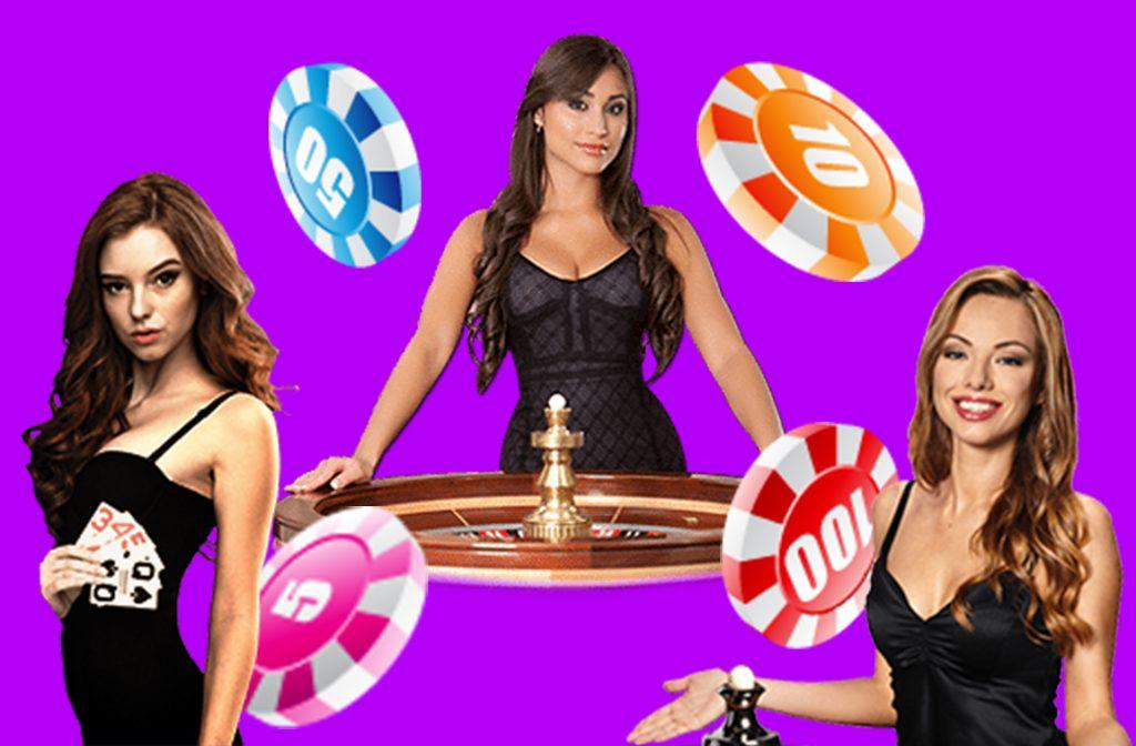 Beautiful Dealers at Spinia Casino
