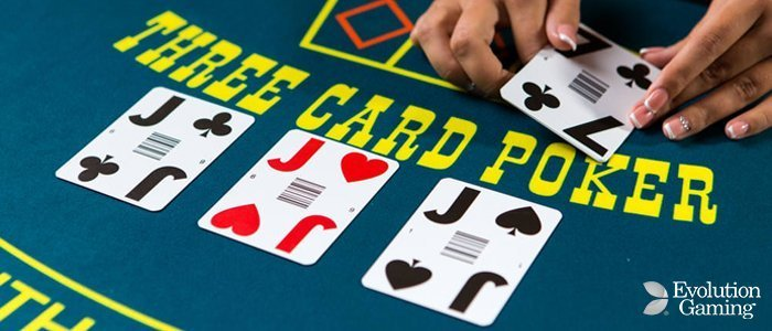 Live Three Card Poker By Evolution Gaming Information Casinos