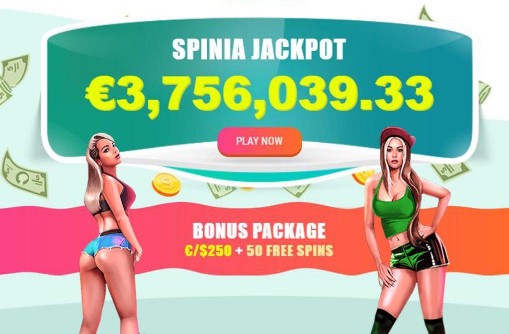 Jackpot at Spinia