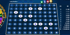 Pick your numbers at Keno OG24