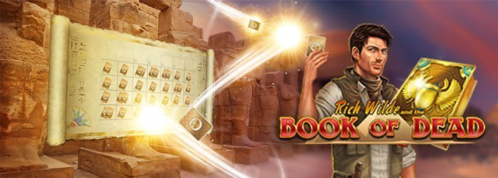 You can play Book of Dead at NetBet