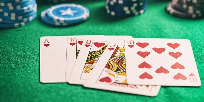 poker rules royal flush