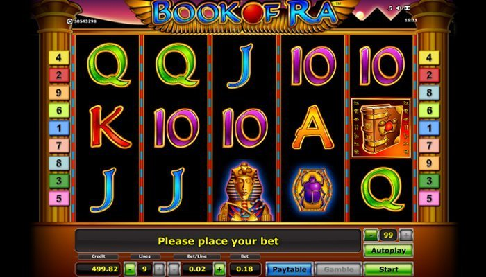 Book of Ra Gameplay