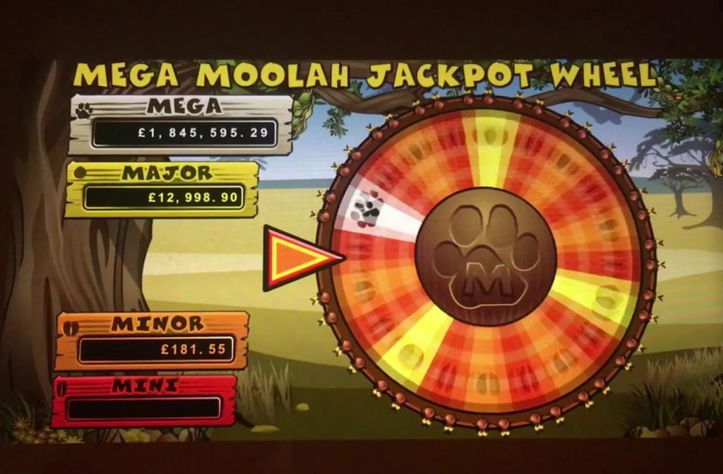 The Jackpot of Mega Moolah is Huge