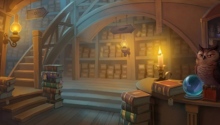 Welcome in the Wizard Shop
