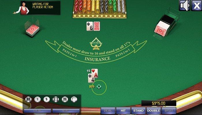 At Online Blackjack The Computer is The Dealer