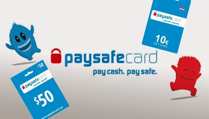 PaysafeCard available in different currencies
