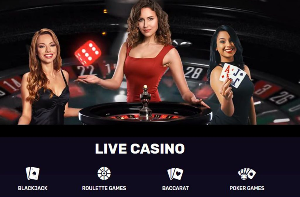 A Great Live Casino Section