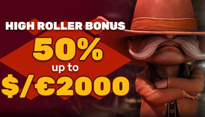 A Huge High Roller Bonus at Playamo