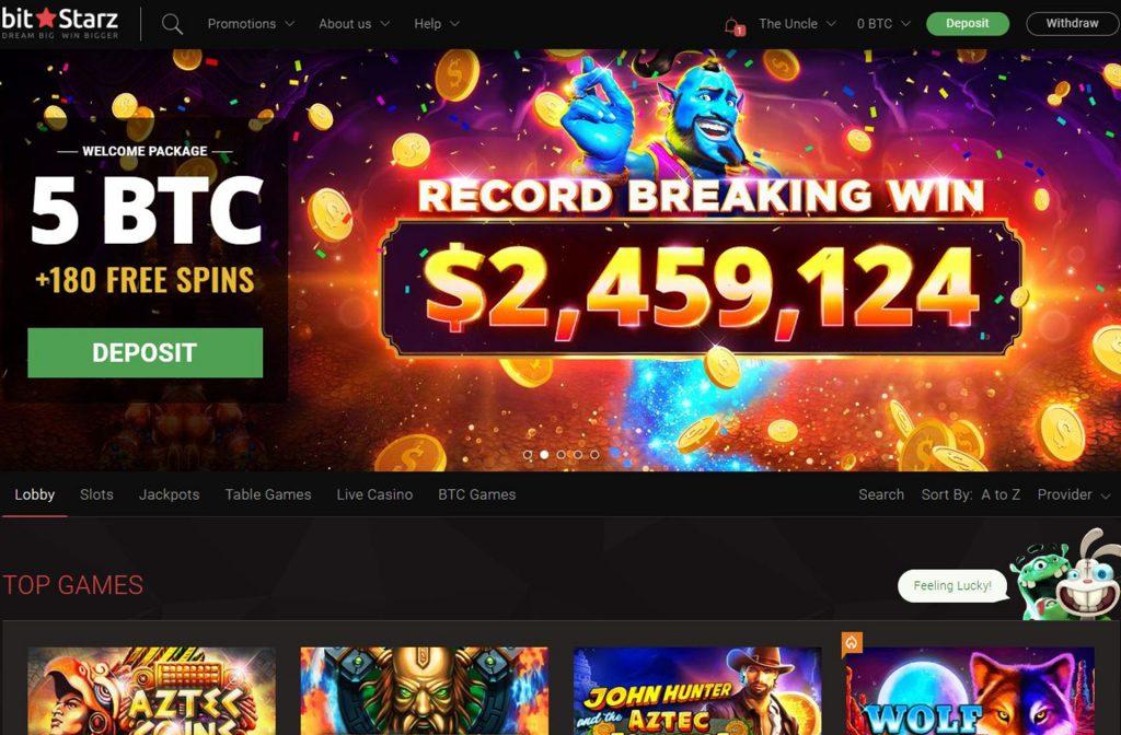 BitStarz Big Winnings