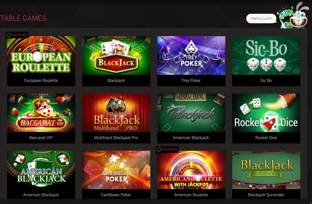 BitStarz Got a Lot of Table Games