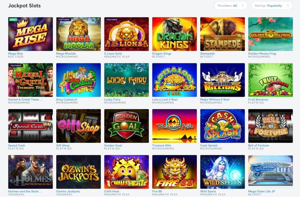 Jackpot Slots at Bitcoincasino.io