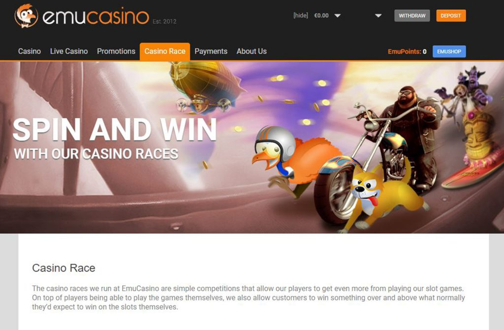 Join the Race and Win