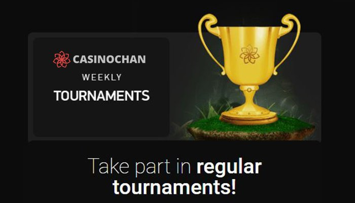 Weekly Tournaments at CasinoChan
