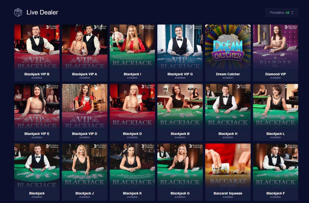 mBit Offers a Lot of Live Dealer Games