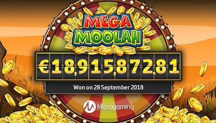A Huge Jackpot Won on Mega Moolah