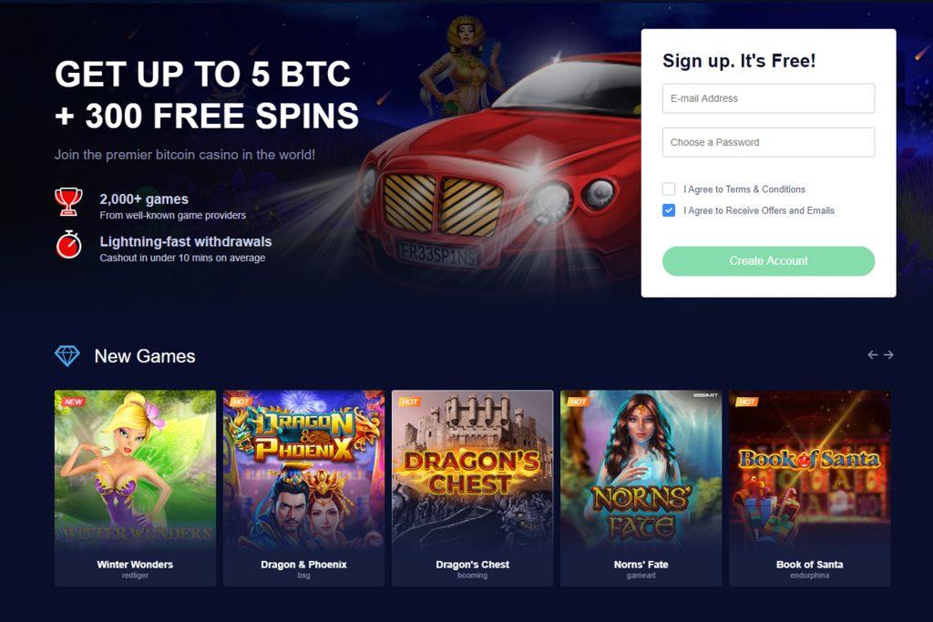 Homepage mBit Casino
