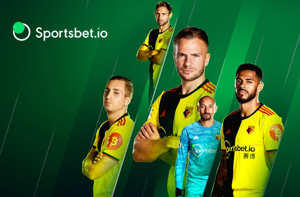 Little Sister Sportbet.io is Sponsor of Watford FC