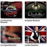Online casinos offer multiple Roulette variations