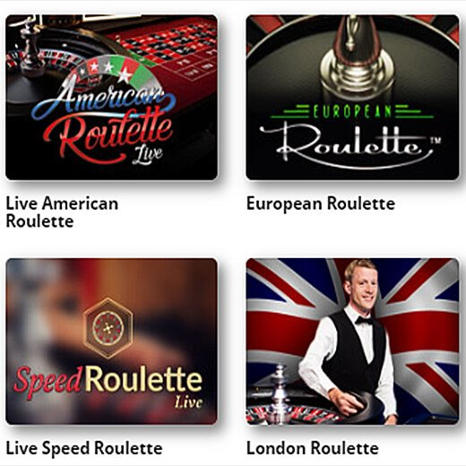 Online casinos offer multiple Roulette variations