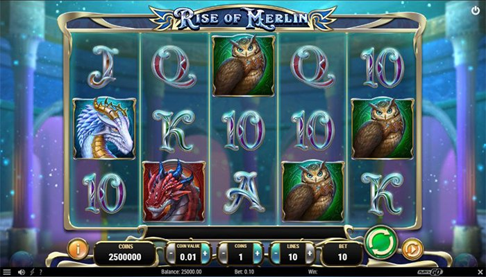 Rise of Merlin Gameplay