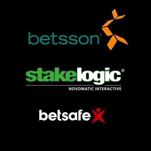 Betsson partners Stakelogic