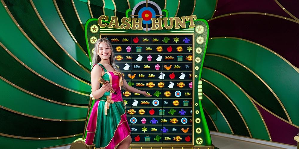 Bonus Game Cash Hunt