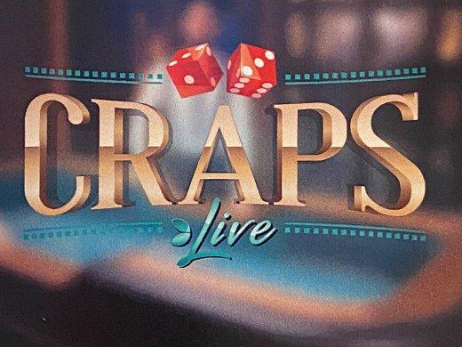 Craps Live Evolution Gaming logo