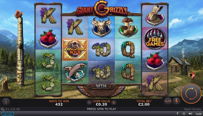 Giant Grizzly is a Very Popular Slot