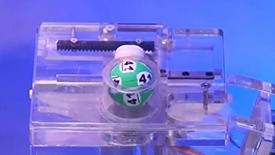 Mega Ball the mega ball is drawn