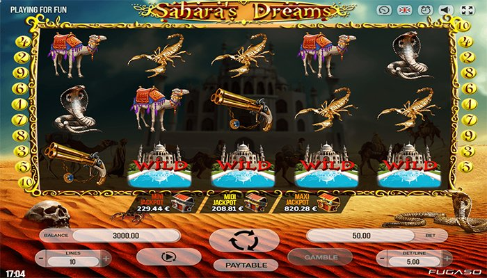Sahara's Dreams gameplay