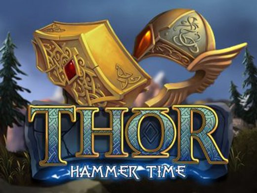 Thor Hammer Time Nolimit City Slot logo2