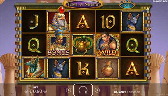 omb of Nefertiti gameplay