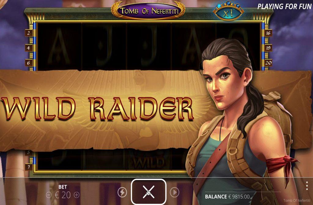 Wild Raider in Tomb of Nefertiti