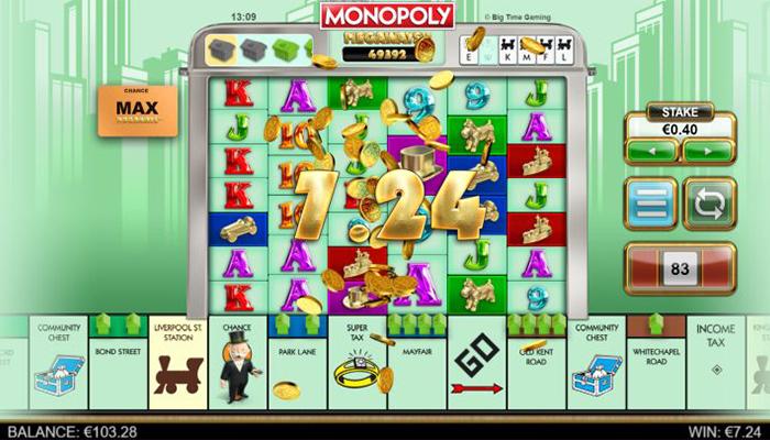 Monopoly Megaways Gameplay