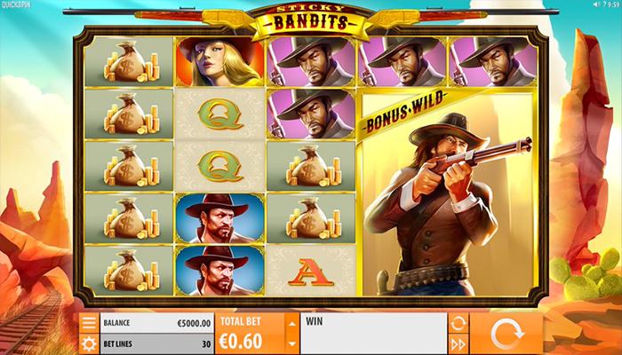 Sticky Bandits Gameplay
