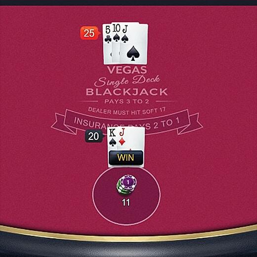 blackjack variants with lowest blackjack