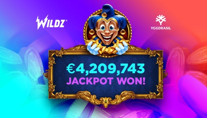 Wildz player hits €4.2 million jackpot playing Yggdrasil's Empire Fortune