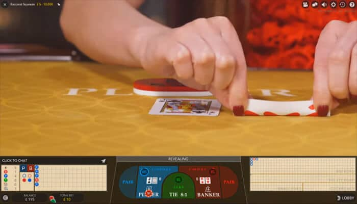 how squeeze feature in online baccarat works
