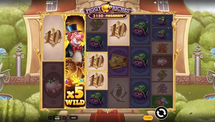 Piggy Riches Megaways Gameplay