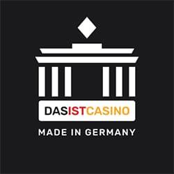 Dasist Casino logo zwart